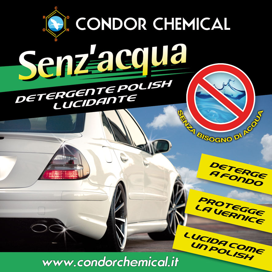 Adversting board Senz'acqua